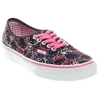 Vans Authentic Hello Kitty   VN 0QER66Y   Skate Shoes