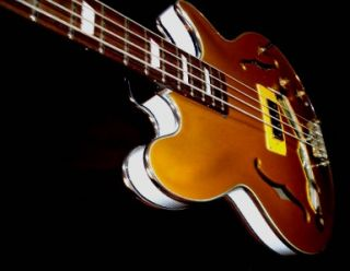 EPIPHONE GIBSON JACK CASADY GOLD TOP BASS. By El Daga. ONLY ONE