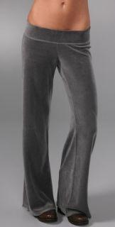 Juicy Couture Velour Wide Leg Pants