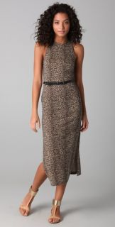 Dolce Vita Lynnie Long Leopard Print Dress