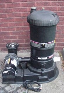 Jacuzzi brand Swimming Pool Pump and Filter system 1 5 HP OH PA pick