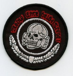 ROCKERS TON UP BOY 59 BIKER LEATHER JACKET PATCH Death Head Skull