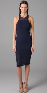 Alexander Wang Stretch Boucle Tank Dress