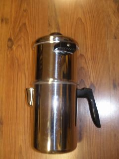 Brand New Flint Echo Stainless Steel Camping Coffee Pot
