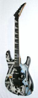 1990 Jackson USA Model Fusion with Dont Smoke Graphics Guitar with