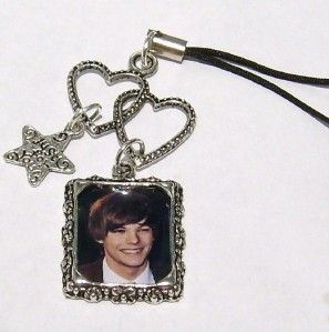 Louis Tomlinson One Direction Heart Mobile Phone Charm