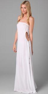 Indah Allegra Strapless Long Dress