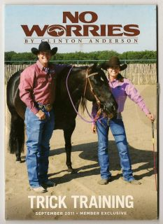 Clinton Anderson No Worries Club Trick Training DVD