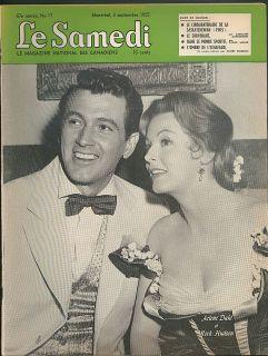 LE SAMEDI 9/3 1955: Rock Hudson Liberace cockfight Jacqueline Cochran