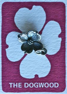 James Avery New 925 Sterling Silver Dogwood Flower Charm C 385
