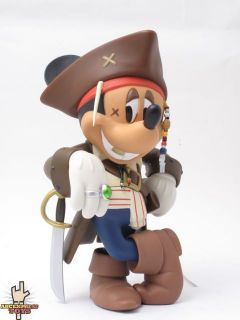 Medicom MICKEY MOUSE Jack Sparrow Ver. 2.0 Vinyl Art Toy Figure