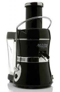 Jack Lalanne Power Juicer Express Fruit Vegetable Home Juicer Black or