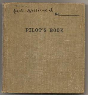 Doolittle Autograph RARE Aero Squadron Pilot Log Book