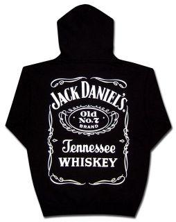 Jack Daniels Hooded Sweatshirt Logo Hoodie