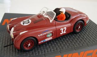 Ninco 50587 Jaguar XK 120 Donington Classic Series 1 32 Slot Car with