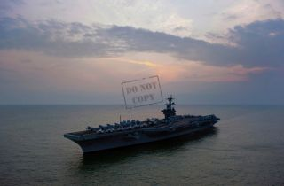 US NAVY USN aircraft carrier USS Carl Vinson (CVN 70) 12X18 AC2
