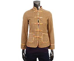 11337 Auth Marc Jacobs Light Brown Corduroy Jacket XS