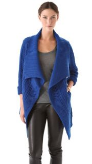 Yigal Azrouel Cable Knit Open Cardigan