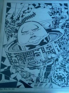 Jack Kirby Original Art Amazing