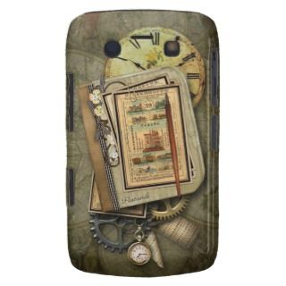 Vintage Steampunk Travel Blackberry Bold Case