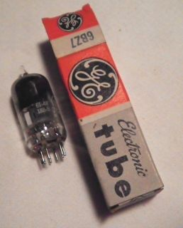 6BZ7 Vintage Electronic TV Shortwave Radio Vacuum Tube GE Boxed Tube C