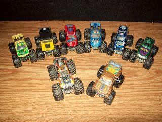 Hot Wheels 1 64 Monster Jam Car Truck Lot Hulk Master of The Universe