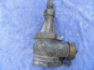Nanas Large Vintage Brass James Jones Fire Hydrant Valve