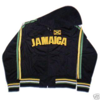 Girls Junior Jamaica Soccer Track Jacket Womens L