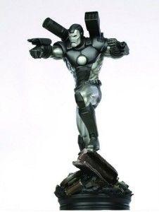 Iron Man War Machine Armor Bowen Figurine Statue RARE