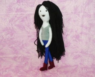 Adventure Time Finn Jake Marceline Handmade Doll