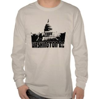 Washington DC Skyline T shirt