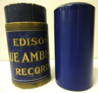 Thomas Edison Phonograph Record Grp, 1910s. Sousas Band, Yale College