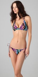 Shoshanna Kailua Geo Triangle Bikini Top