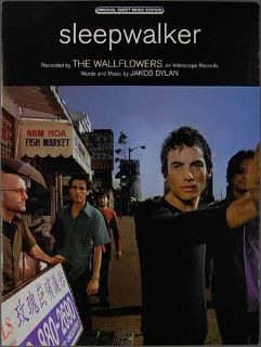 Sheet Music The Wallflowers Jakob Dylan Piano Vocal Guitar 2000