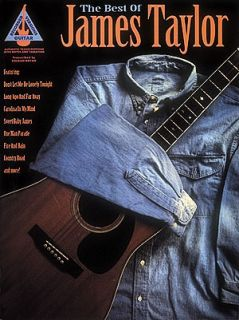 Best of James Taylor Guitar Tab Sheet Music Song Book