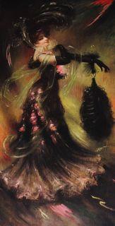 Antique 1906 Art Nouveau Risque Bad Girl Pin Up J Ross Bryson Calendar