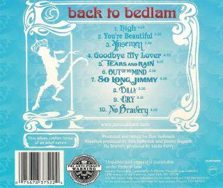James Blunt Back to Bedlam CD 075678375224