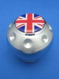 British Flag England UK Logo Aluminum Gear Shift Knob 251
