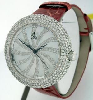 Jacob Co Crystal New Diamond Bezel $27 000 00 44mm Stainless Steel