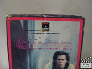 Quicksilver VHS Kevin Bacon Jami Gertz Paul Rodriguez 043396606449