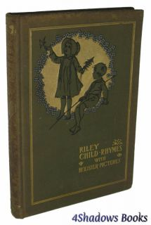HC Child Rhymes with Hoosier Pictures by James Whitcomb Riley