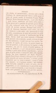 Specchio Della Vera Penitenzia HANNIBAL in Italian Jacopo Passavanti