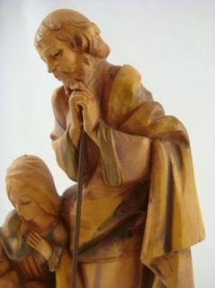 Made in Italy Holy Family Nativity Scene Mary Joseph Jesus