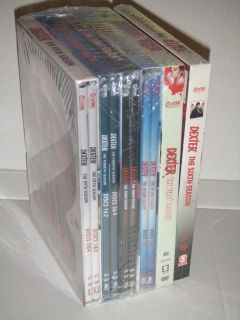 DEXTER Complete Seasons 1 6 (DVD, 2012, 24 Disc Set) Season 1 2 3 4 5