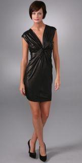 Laila Azhar Twist Front Dress