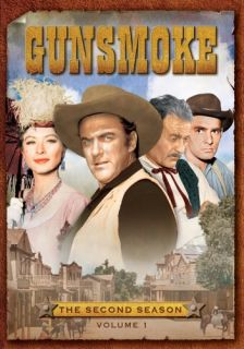 Gunsmoke   The First, Second & Third Season DVD Box Sets, 18 DVDs