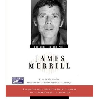 Book Audiobook CD Voice of The Poet James Merrill 0375406670