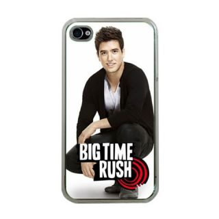 Big Time Rush BTR Black Apple iPhone 4 4S Photo Hard Cover Case