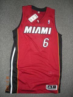 NBA Miami Heat Lebron James L Large + 2 Revolution 30 Authentic Mens