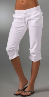 Juicy Couture Terry Crop Cargo Pants with Knee Pleats